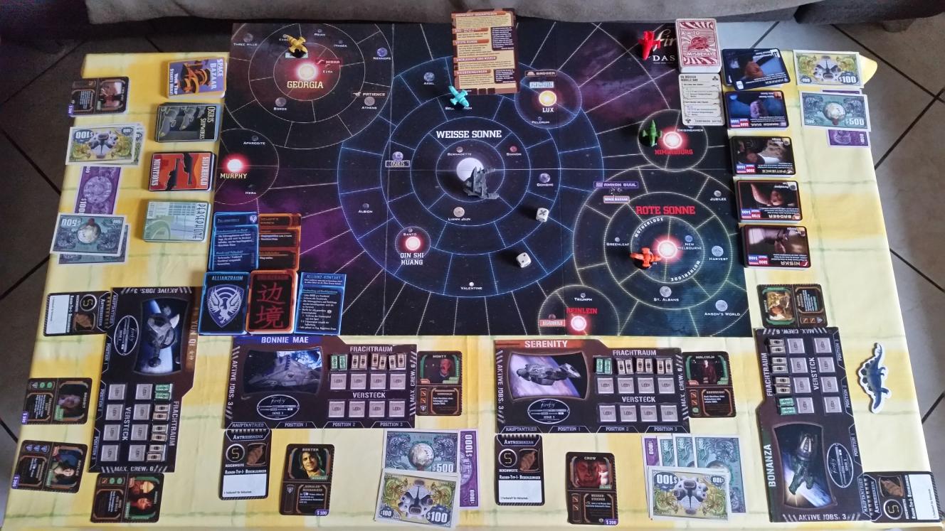 Firefly Das Spiel