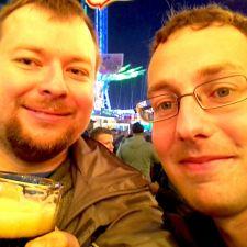 Blogger Philipp und Blognamensgeber Stephan